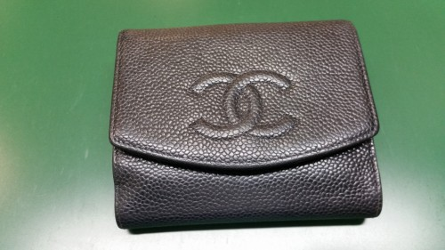 1cf2d149bca1 シャネルの財布のホック交換しました。靴の修理の他にも、バッグやベルト ...