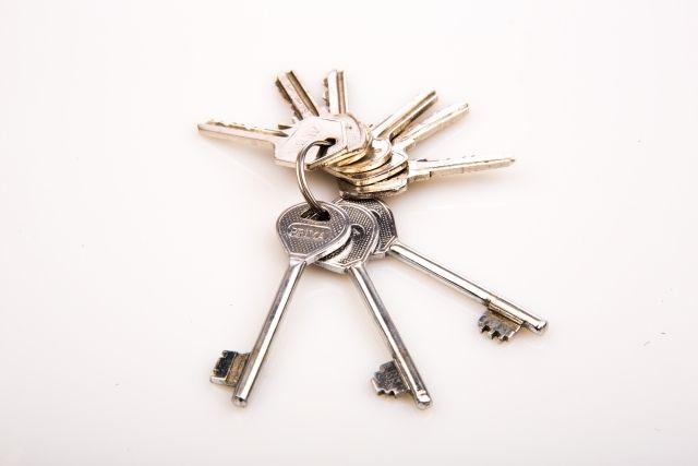 合鍵と純正キー